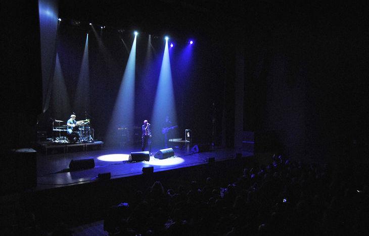 Tricky sul palco dello Splendor