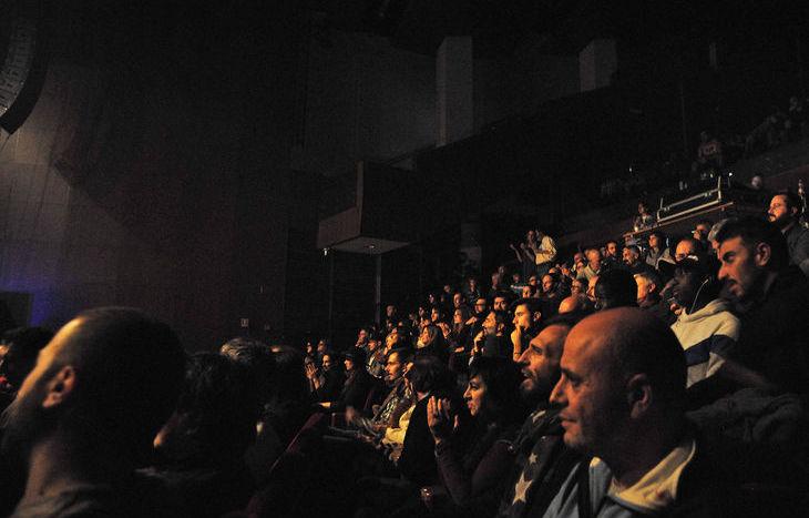 Il pubblico al concerto di Tricky