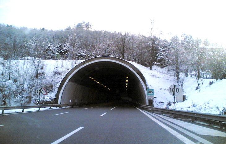 autostrada Monte Bianco