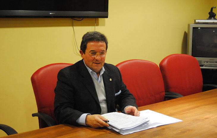 L'assessore regionale all'Edilizia Residenziale Pubblica Mauro Baccega