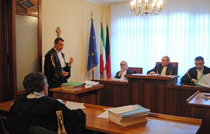Il procuratore Roberto Rizzi durante la seduta della Corte dei Conti