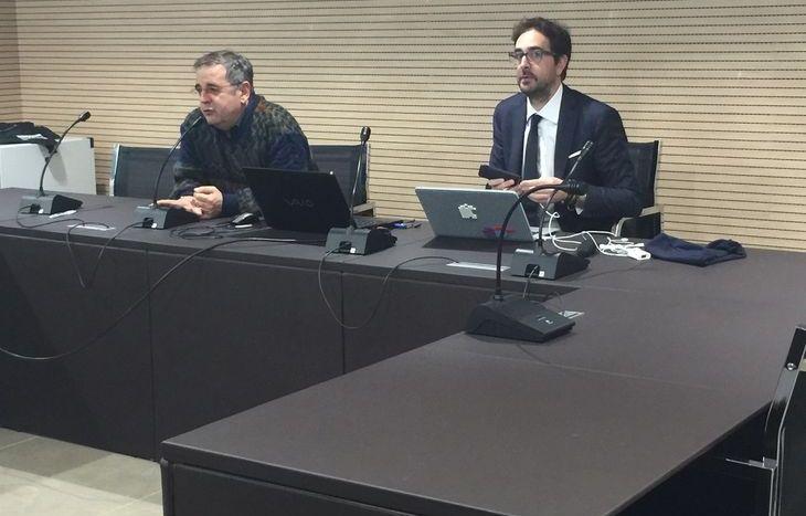 Jean Barocco ed Ernesto Belisario