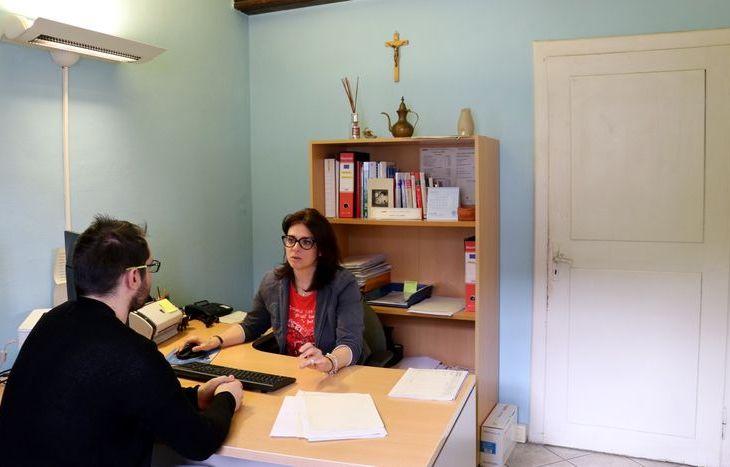 Gli uffici e gli operatori del Caf Acli della Valle d'Aosta