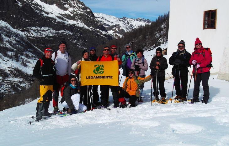 Legambiente escursione neve diversa