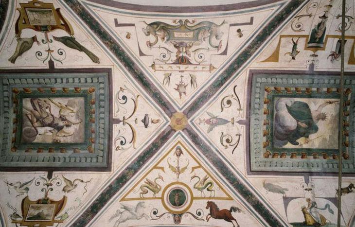 Palazzo Roncas - affresco