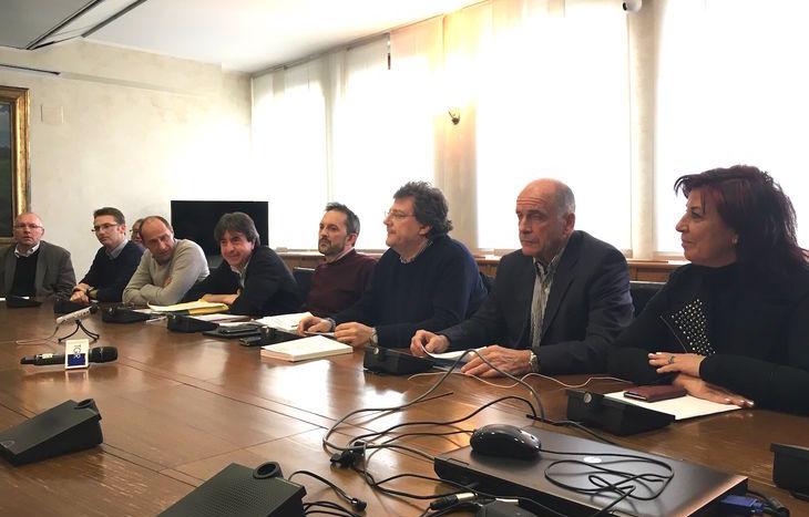 Conferenza stampa Pd. Uv e Sapa