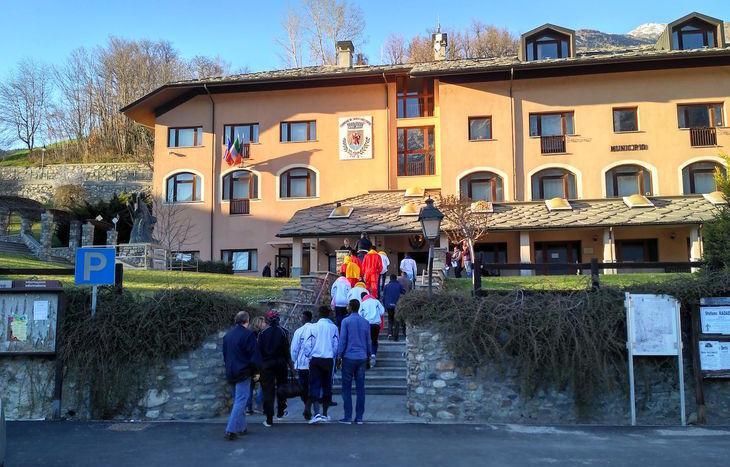L'arrivo di migranti a Saint-Chrisotphe