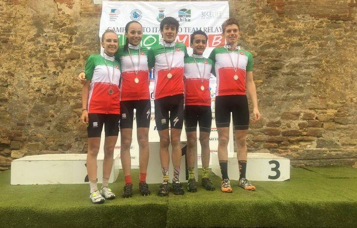 Andreas Vittone, Thierry Grivel, Sylvie Truc, Nicole Pesse e Filippo Agostinacchio