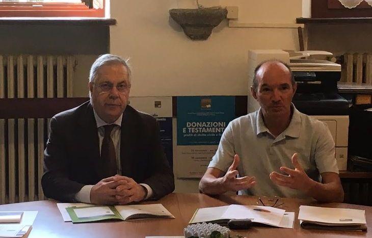 Pietro Passerin d'Entrèves e Giancarlo Civiero