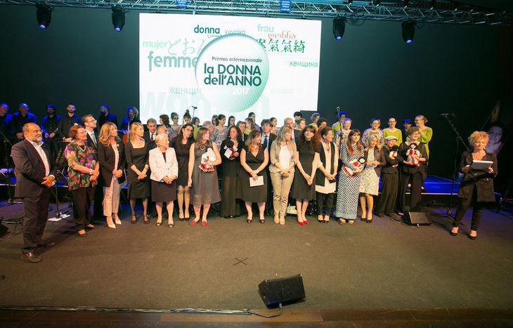 Premiazione Donna dell'Anno 2017