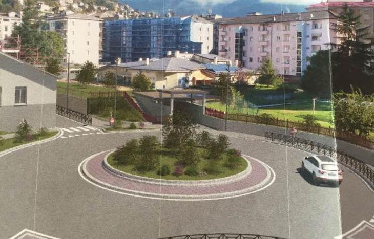 Il progetto di collegamento tra via Elter e via Saint-Martin-de-Corléans