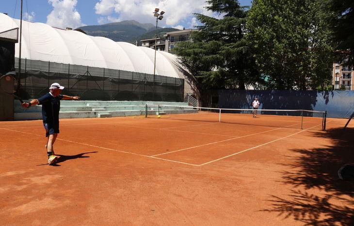 Aosta Arena - Tennis