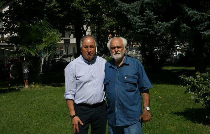 Giuseppe Tropiano e Rinaldo De Maria