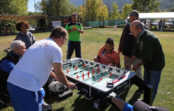 Festa dello sport volontariato a Sarre