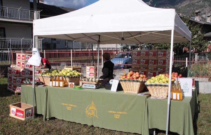 La Festa delle mele a Gressan