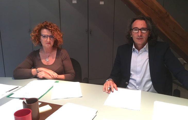 Patrizia Pradelli e Luca Lotto