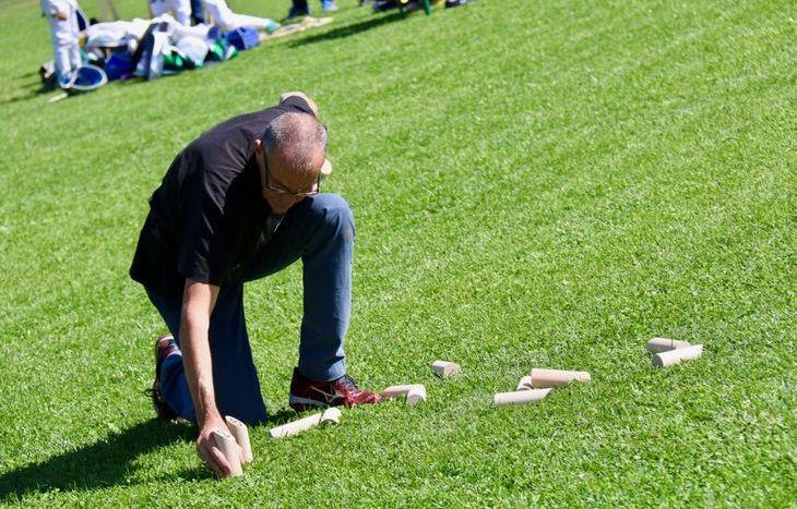 Dimostrazioni sportive a Sarre