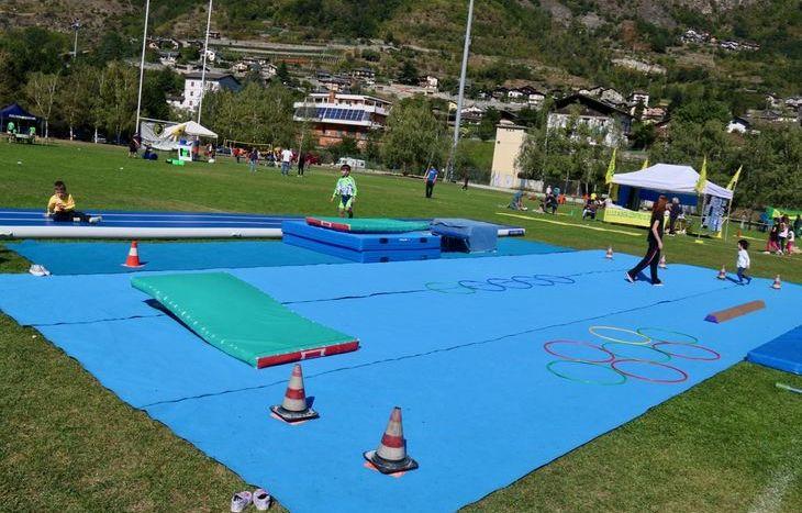 Dimostrazioni sportive a Sarre - Ginnastica
