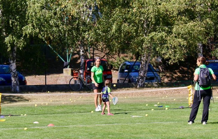 Dimostrazioni sportive a Sarre - Tennis