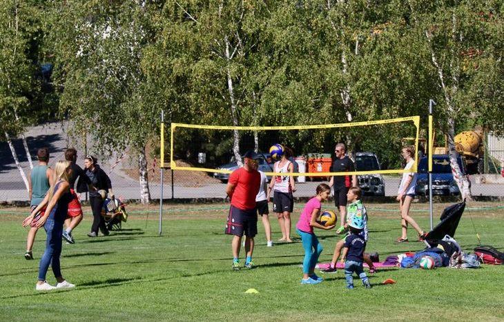 Dimostrazioni sportive a Sarre - Volley