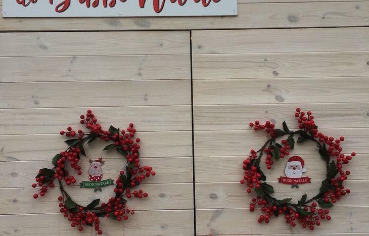 La casetta di Babbo Natale al Marché Vert