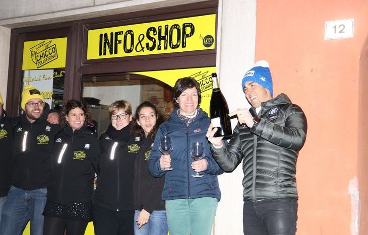 L'inaugurazione dell'Info&Shop del Chicco Pellegrino Official Fan Club