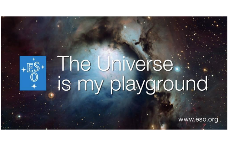 L'Universo è il mio parco giochi