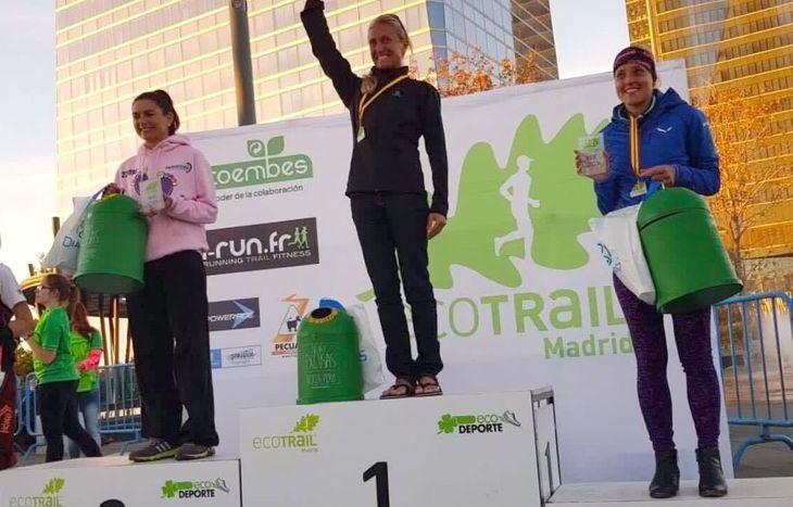 Simona Morbelli sul podio di Madrid