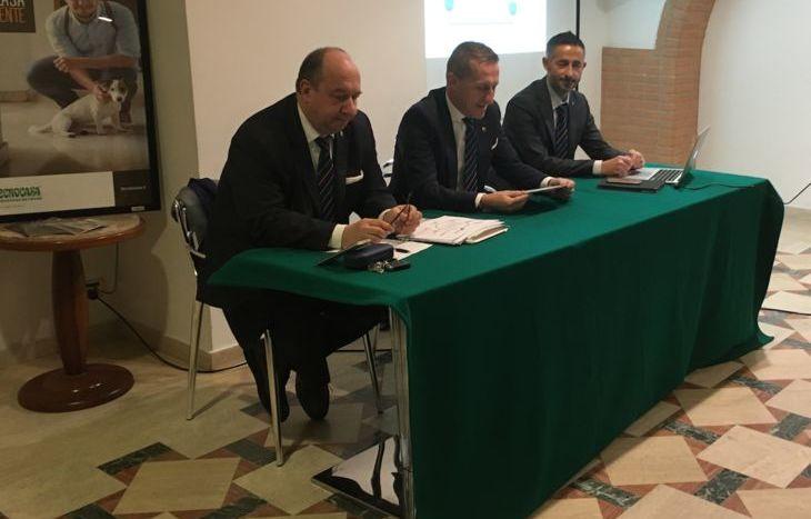Marco Spadoni, Gianni Pautasso e Agostino Nicotera