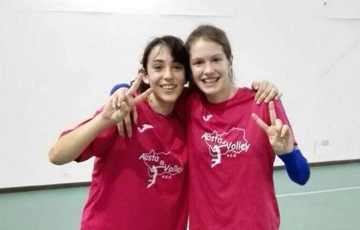 Alessia Ricci e Lisa Mezzano, vincitrici dell'Under 13 - foto Antonella Perriello