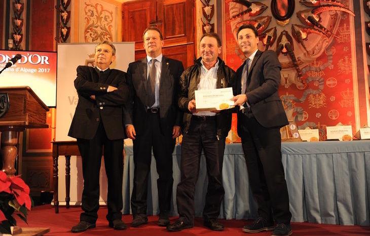 Modon d'Or 2017 - la premiazione di Adolfo Peretto di Brusson