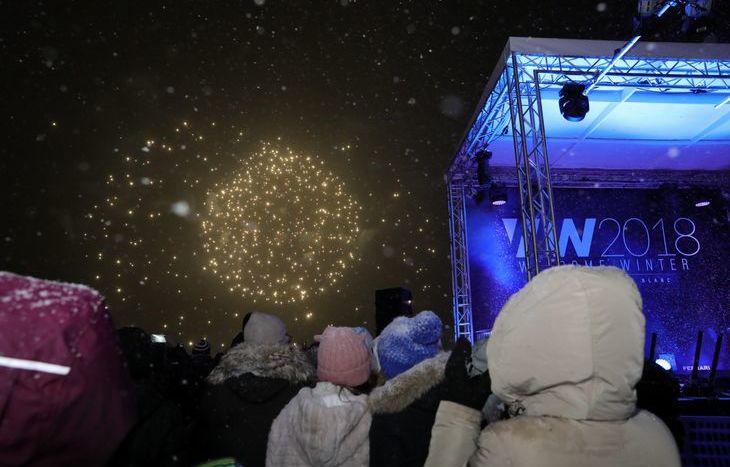 Welcome Winter 2018, i fuochi d'artificio a Courmayeur
