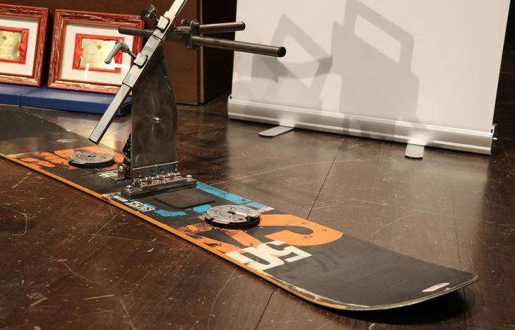 Il B.A.S.S.- Borney Adapted Snowboard System