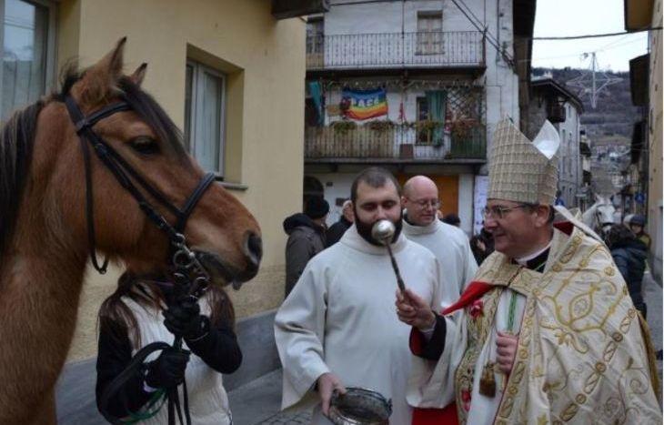 Festa di S. Antonio - Benedizione degli animali