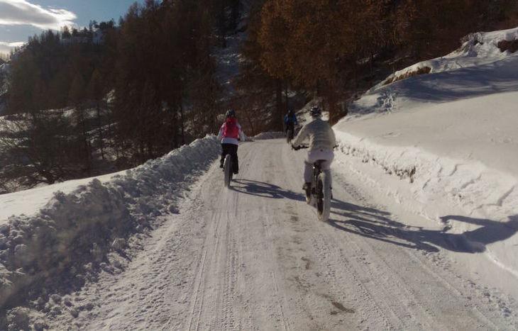In bici alla scoperta del Petit Monde di Torgnon