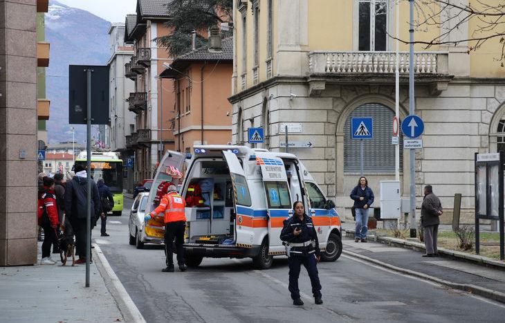 L'incidente in via Festaz.