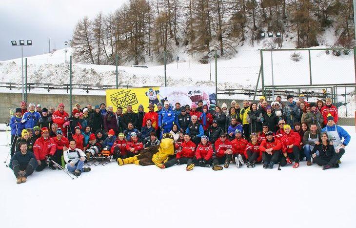 Tutti sugli sci con Chicco Pellegrino