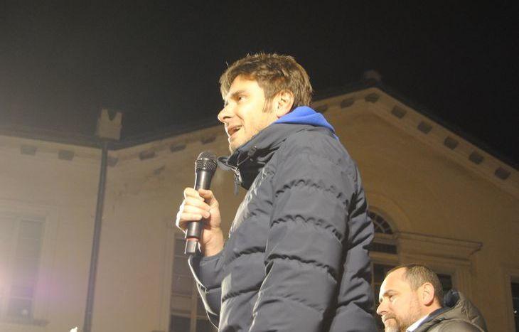 Alessandro Di Battista ad Aosta