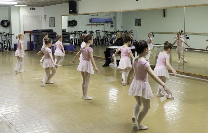 Le ragazze di Danza e Danza con Mia Molinari