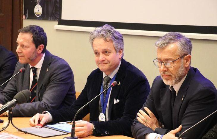 Luca Distort, Gianni Tonelli e Paolo Sammaritani