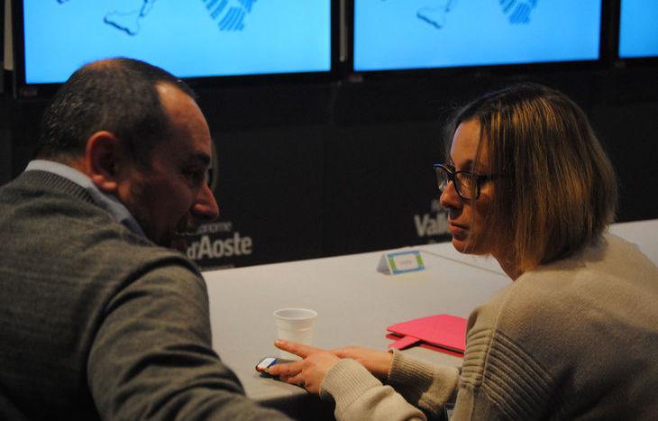 Elisa Tripodi, M5s con Luciano Mossa