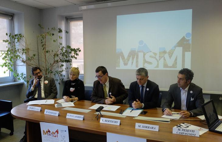 Il tavolo dei relatori del Progetto Mismi