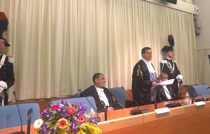 Inaugurazione Anno giudiziario Tar - Andrea Migliozzi