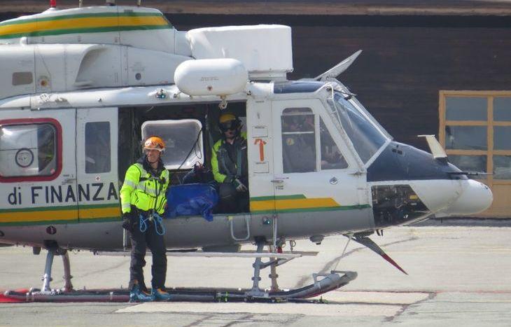 La Guardia di finanza ha recuperato le vittime della tragedia di Chamolé.