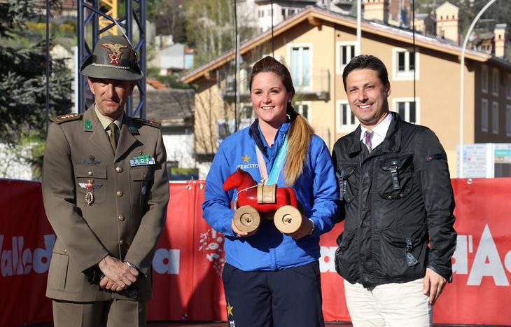 La festa dei protagonisti dei Giochi olimpici invernali di PyeongChang - Michela Moioli