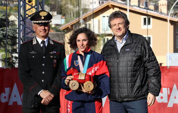 La festa dei protagonisti dei Giochi olimpici invernali di PyeongChang - Federica Brignone
