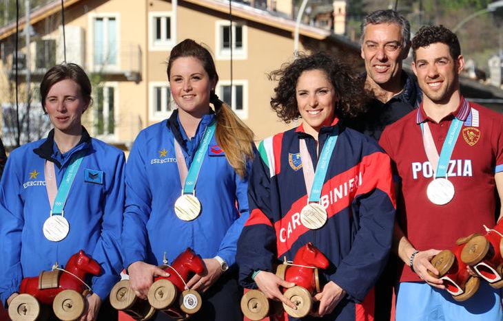 La festa dei protagonisti dei Giochi olimpici invernali di PyeongChang - La cerimonia di premiazione