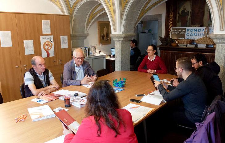 L'incontro con la stampa della Fondazione comunitaria della Vda