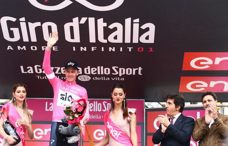 Il Giro d'Italia a Cervinia