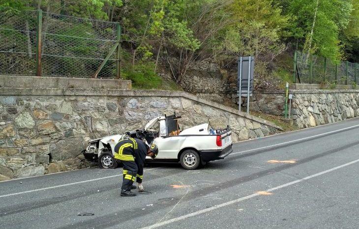 Incidente stradale Gignod